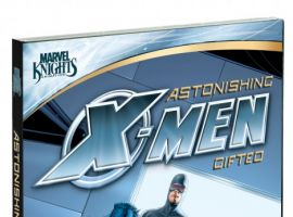 ''Astonishing X-Men: Gifted'' DVD cover by John Cassaday