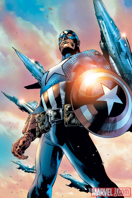Ultimate Captain America and his shield