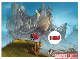 THOR #615 preview page by Pasqual Ferry