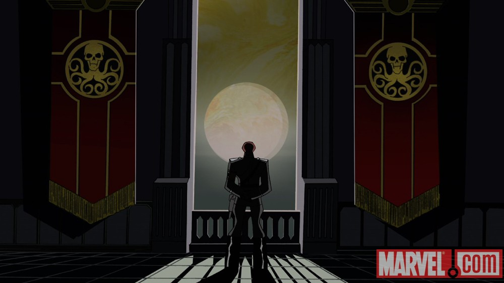 The Red Skull from The Avengers: Earth's Mightiest Heroes!