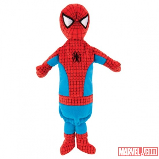Spider-Man Bottle Stuffer by Fetch available at PetSmart