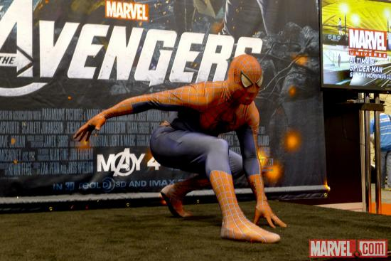 Spider-Man Cosplayer at Wondercon 2012