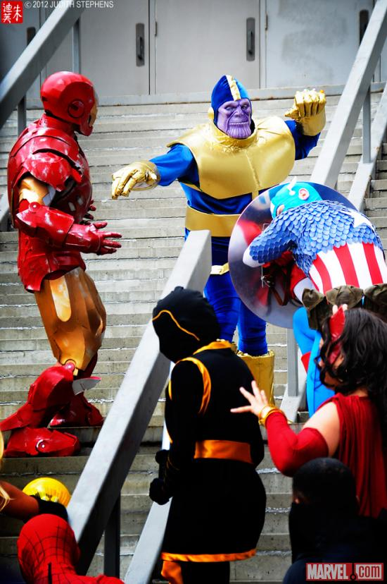 Marvel Costuming: Avengers Assemble at Dragon*Con 2012
