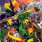 Image Featuring Captain America, Deadpool, Dormammu, Doctor Doom, Hulk, Iron Man, Super-Skrull