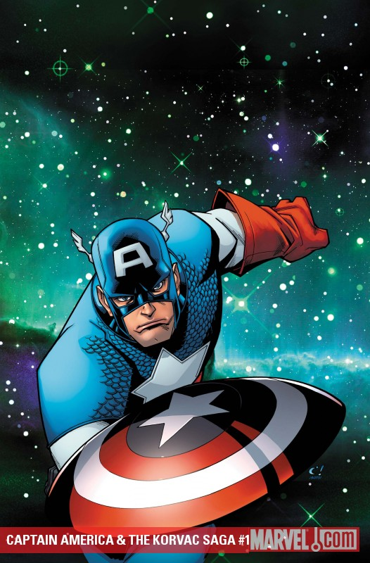Captain America & The Korvac Saga #1 cover by Craig Rousseau