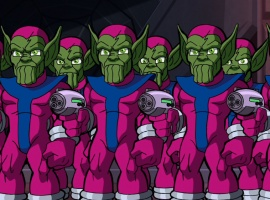 The Skrulls from The Super Hero Squad Show
