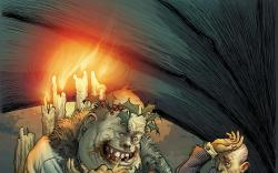 Marvel Zombies Christmas Carol #3 cover