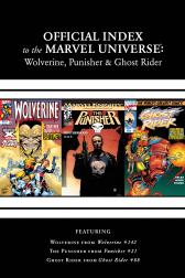 Wolverine, Punisher &amp; Ghost Rider: Official Index to the Marvel Universe Marvel Universe #5 