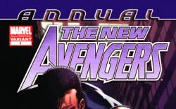 NEW AVENGERS ANNUAL 1 2ND PRINTING VARIANT