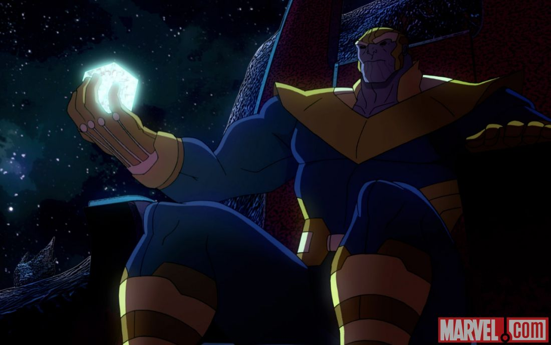 Anime Characters Vs Thanos : Thanos is coming in a new avengers assemble clip