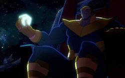 Thanos makes his debut in Marvel's Avengers Assemble - The Final Showdown