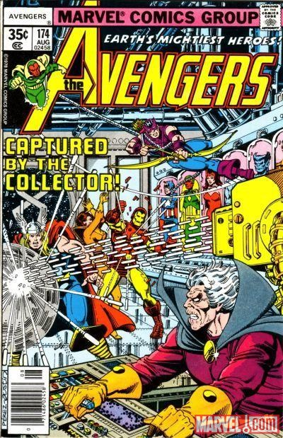 AVENGERS #174 cover by George Perez