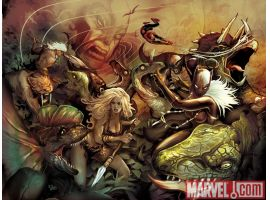 Image Featuring Shanna the She-Devil, Spider-Man, Wolverine