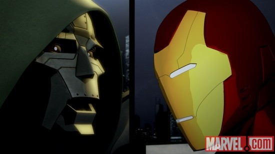 Screenshot from Iron Man: Armored Adventures Season 2, Episode 8
