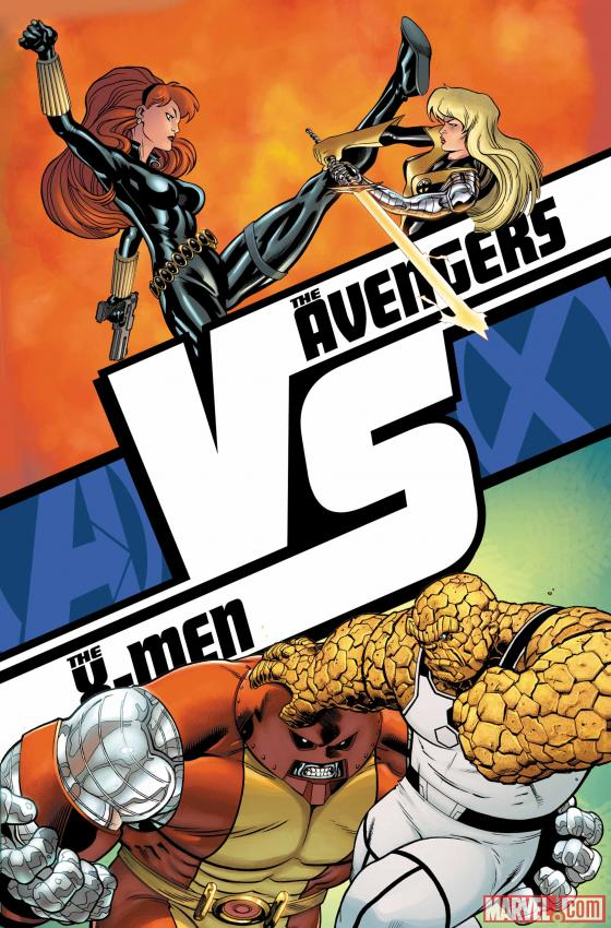 AVX: VS #3 cover art by Ed McGuinness