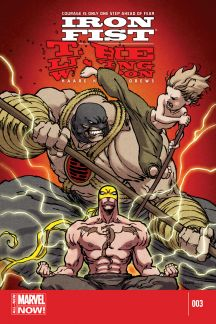 Iron Fist: The Living Weapon #3