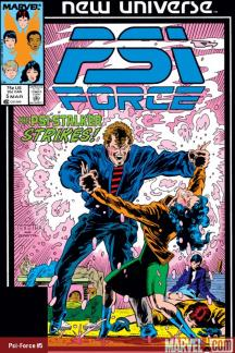 Psi-Force (1986) #5