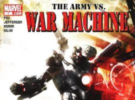 WAR MACHINE #8 (2008) cover