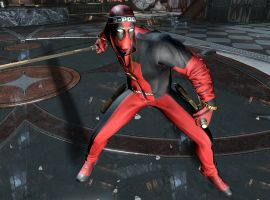 Deadpool's D-Pooly suit, now available as DLC for the Deadpool game