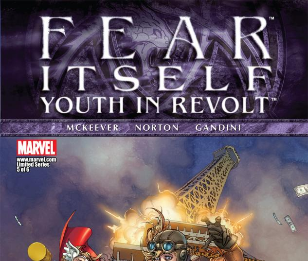Fear Itself: Youth in Revolt (2011) #5