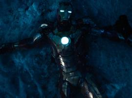 Iron Man lays battered in the snow in Marvel's Iron Man 3