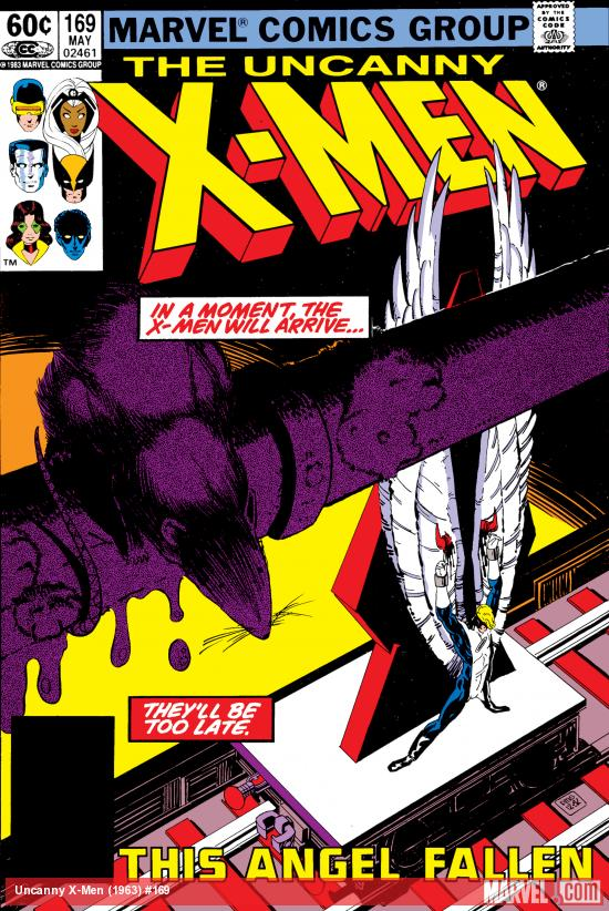 Uncanny X-Men (1963) #169 Cover
