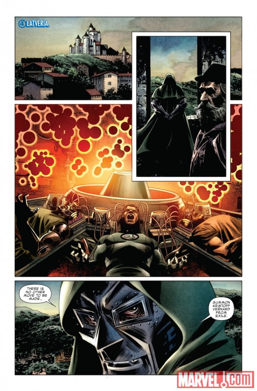 FANTASTIC FOUR #583 preview art by Steve Epting 2