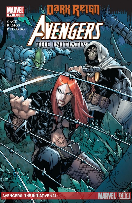 Avengers: The Initiative (2007) #24
