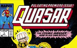 Quasar (1989) #1 Cover