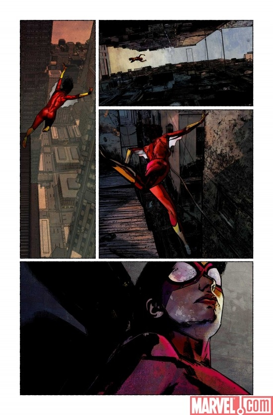 SPIDER-WOMAN #1 Preview Art