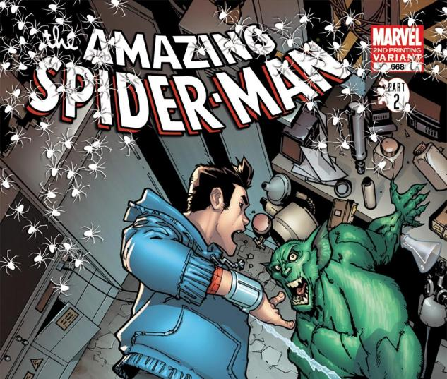 Amazing Spider-Man (1999) #668, 2nd Printing Variant