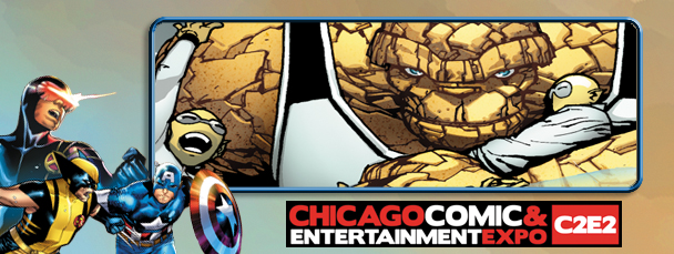 C2E2 2012: Ryan Stegman on Fantastic Four