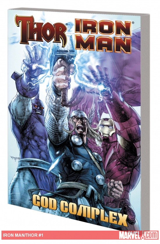 THOR/IRON MAN: GOD COMPLEX TPB