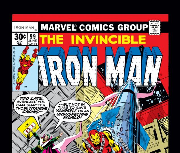 Iron Man (1968) #99 Cover
