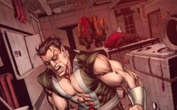 Steve Rogers: Super-Soldier Annual #1 preview art by Ibraim Roberson