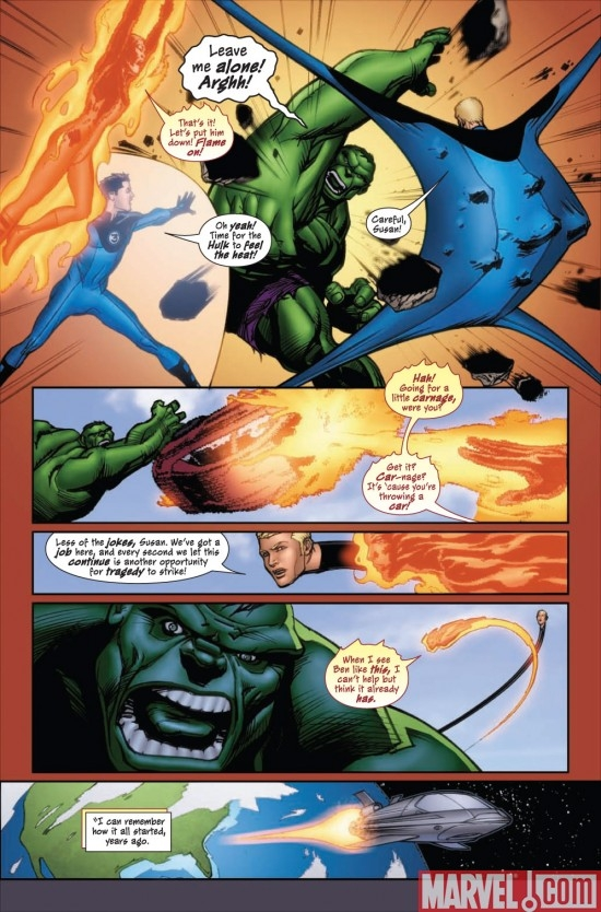 MARVEL ADVENTURES FANTASTIC FOUR #47 preview page