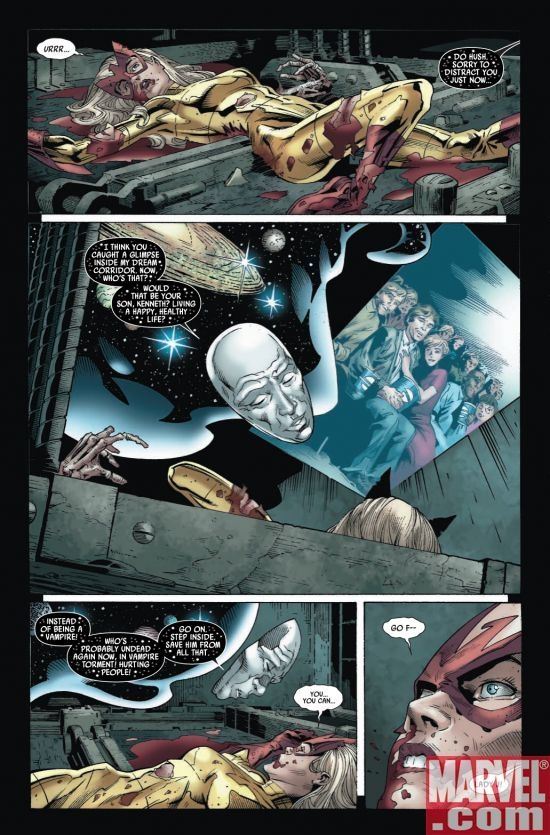 CAPTAIN BRITAIN AND MI13 #8, page 3