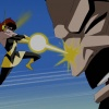 Screenshot of the Wasp and Graviton from The Avengers: Earth's Mightiest Heroes!