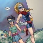 HER-OES #3 preview art by Craig Rousseau