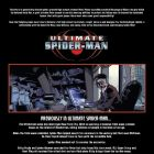 ULTIMATUM: SPIDER-MAN REUIEM BOOK #2, intro page