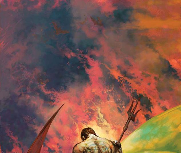 HELLSTORM: SON OF SATAN (1973) #4 COVER