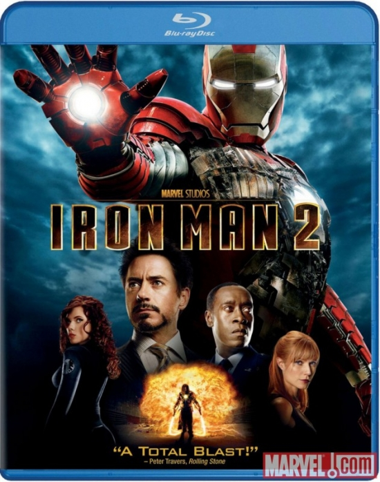 'Iron Man 2' single-disc Blu-ray