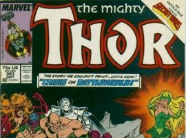 Image Featuring Titania, Enchantress (Amora), Wrecking Crew, Wrecker, Piledriver, Bulldozer, Absorbing Man, Doctor Doom, Thor