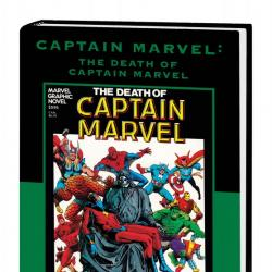 Captain Marvel: The Death of Captain Marvel (Direct Market Only Variant) (2010 - Present)