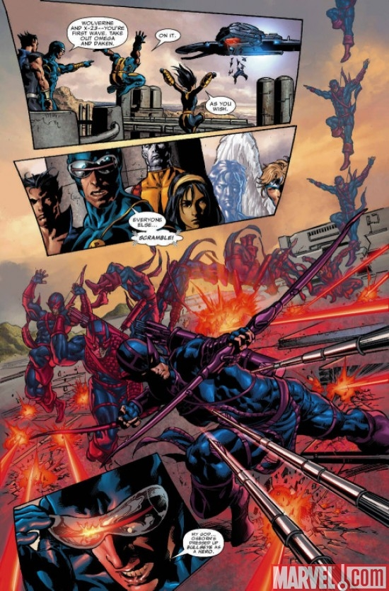 Preview art by Mike Deodato