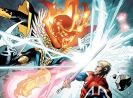 CAPTAIN BRITAIN AND MI: 13 #4 preview art by Leonard Kirk
