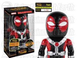 Funko Deadpool Black and Red Premium Hikari Sofubi Vinyl Figure Entertainment Earth Exclusive