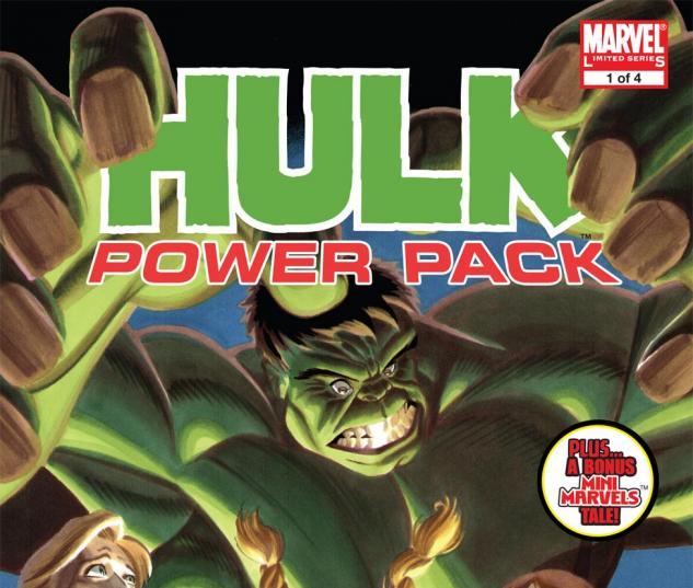 Hulk and Power Pack (2007) #1