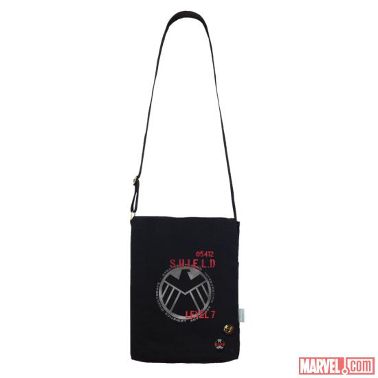 S.H.I.E.L.D. vertical messenger bag by WeLoveFine