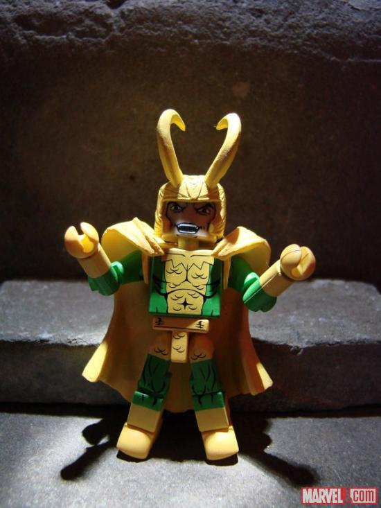 Best of Marvel Minimates Series 2 Loki